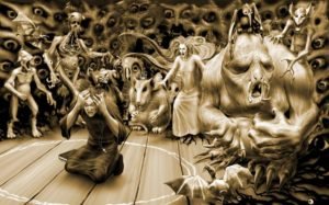 Вий – страшное существо славянских мифов