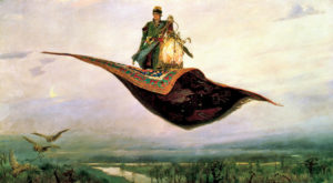 Картина Васнецова Ковер Самолет. 1880 г.