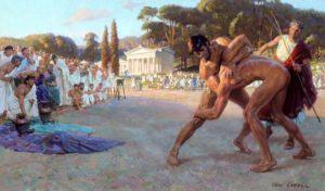 Единоборства в Древней Греции