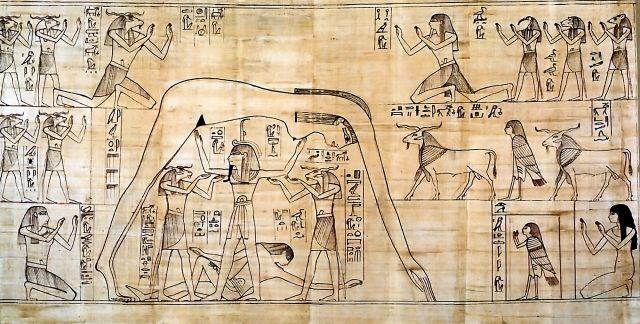 Древнеегипетская Книга Мертвых - YouTube