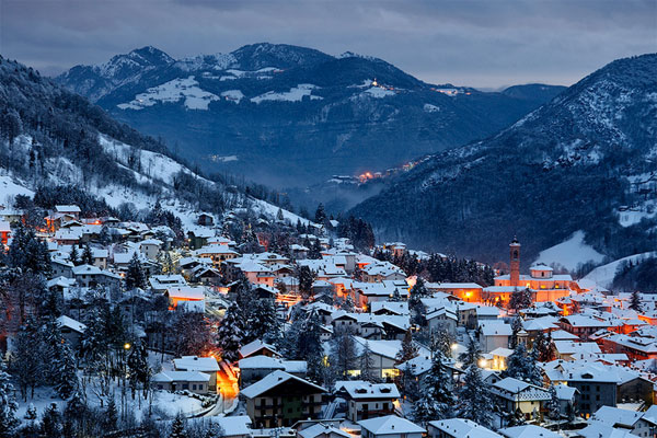 Зимний отдых в Италии