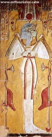Гробница Таусерт и Сетнахта: Осирис. Около 1190 до н.э.