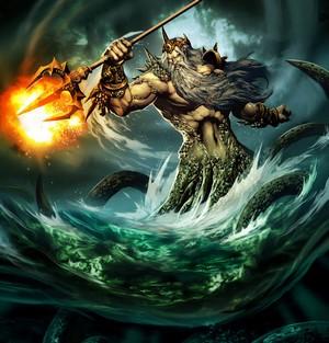 Бог морей – Посейдон